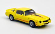 Chevrolet . Z28 Jaune métallique avec bande rouge 1/43