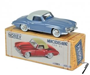 Mercedes . Gris bleu & gris clair 1/43