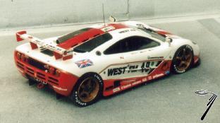 Mac Laren F1 GTR West N°49 24H Le Mans  1/43