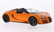 Bugatti Grand sport Vitesse cabriolet orange Grand sport cabriolet orange 1/18