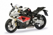 BMW S 1000 RR rouge racing/blanc alpin  1/10