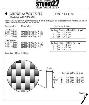 Divers Décal Carbonne A gris métal M Décal Carbonne A gris métal M 1/20