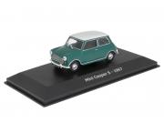 Mini . S - Vert toit blanc 1/43
