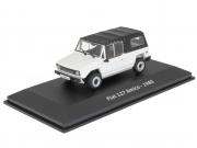 Fiat . Amico - White/ Black roof 1/43
