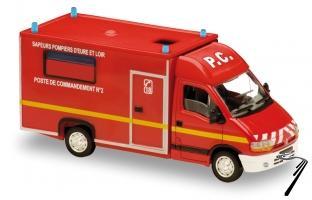 Renault . Sapeurs Pompiers d'Eure et Loir 1/50