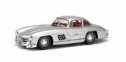 Mercedes . Gullwing silver 1/43