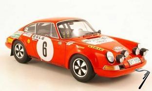 Porsche 911S #6 1er M.Carlo  1/18