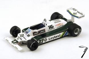Williams FW07B - champion du monde  1/18