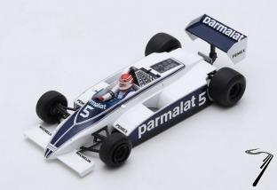 Brabham BT49C 1er GP Argentine - Champion du Monde  1/18