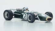 Brabham BT24 3rd Mexico GP  1/18