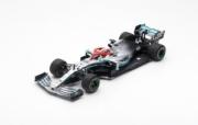 Mercedes W10  1er GP Monaco  1/18