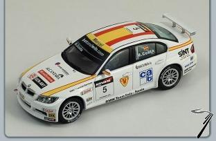 BMW 320 SI #5 WTCC  1/43