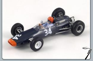 Lotus 25 BRM 10ième GP France  1/43