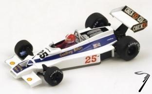 Hesketh 308E #25 GP US  1/43