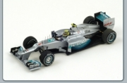 Mercedes AMG W03 1st China GP  1/43