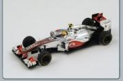 Mac Laren MP4-27 5ème GP Monaco  1/43