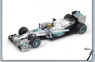 Mercedes W04 1er GP Grande Bretagne  1/43