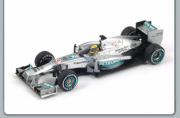 Mercedes W04 1st Great Britain GP  1/43