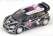 Citroen DS3 #11 Rally Monte Carlo  1/43