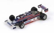 Lotus 81 - 3ème GP Belgique  1/43