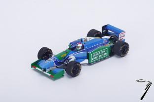 Benetton B194 - 3ème GP Belgique  1/43
