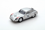 Porsche 356 B Carrera Abarth GTL #36 10ème 24H du Mans  1/43