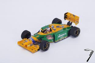 Benetton B193B Monaco GP  1/43