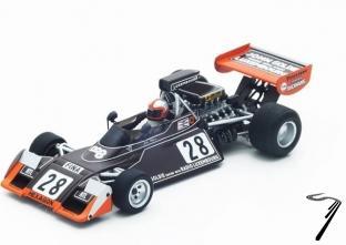 Brabham BT42 6ème Monaco GP   1/43