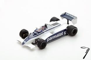 Brabham BT49 7ème GP Argentine  1/43