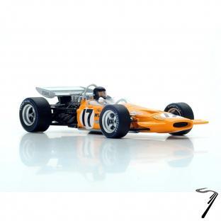 Mac Laren M14A 6ème GP France  1/43