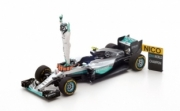 Mercedes W07 Hybrid - 2nd GP Abu Dhabi - world champion