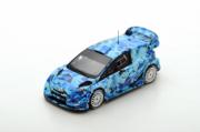Ford Fiesta WRC Test Car Monte Carlo  1/43