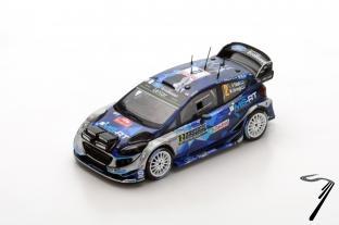 Ford Fiesta WRC - 3ème Monte Carlo  1/43