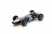 Brabham BT7 #6 4th France GP  1/43