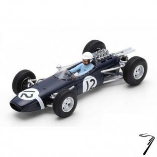 Brabham BT7  7eme GP Monaco  1/43