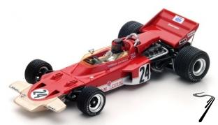 Lotus 72C  1er GP USA  1/43