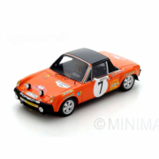 Porsche 914/6 3ème rallye Monte Carlo  1/43