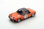 Porsche 914/6 rallye Monte Carlo  1/43