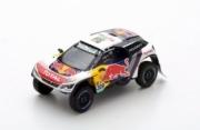 Peugeot 3008 DKR #309 2ème rallye Dakar  1/43