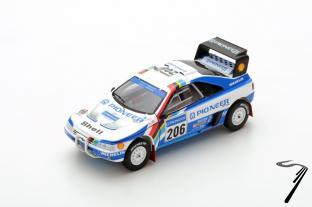 Peugeot 405 T16 2eme Dakar  1/43
