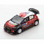Citroen C3 5ème Rallye du Mexique  1/43
