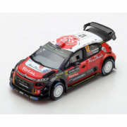 Citroen C3 WRC 6ème Rallye de Suède  1/43