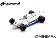 Tyrrell 011 #4 GP Afrique du Sud  1/43