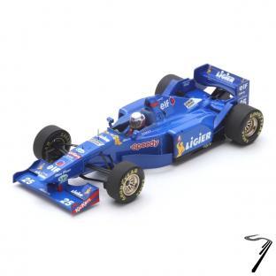Ligier JS41  3eme GP Belgique  1/43