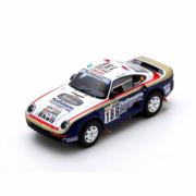 Porsche 959 #186 1er Rallye Paris Dakar  1/43