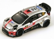 Ford Fiesta RS WRC 10 ème rallye de France  1/43