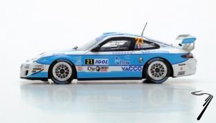 Porsche 997 GT3RS WRC - édition limitée à 500 pièces  1/43