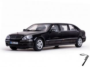 Mercedes . S600 Pullman Noir 1/18