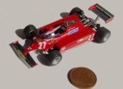Ferrari 126 Ck Monaco GP 1981 Winner G.Villeneuve  1/64
