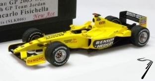 Jordan EJ13 Ford 1er GP Brésil  1/43